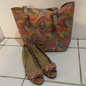 VANELi Brinly Peep Toe Pump -With Tote Bag